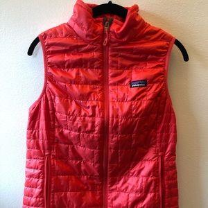 Patagonia Women's Nano Puff Vest Red